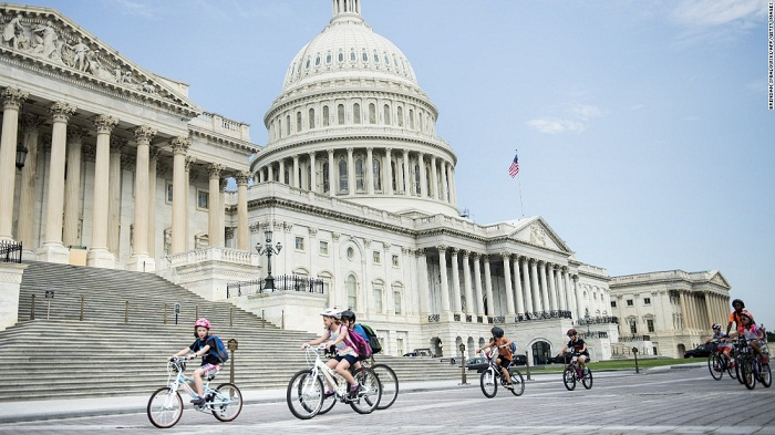 Washington DC tops the list of fittest cities in the U. S.