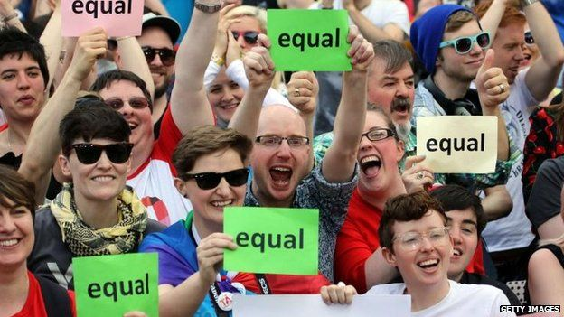 Huge Republic of Ireland vote for gay marriage