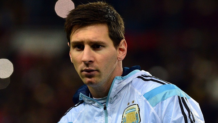 I never said I'd quit Argentina: Messi