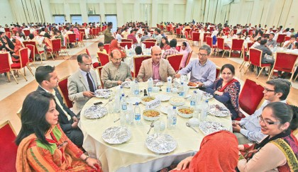 <p>Bashundhara Group hosts iftar in honour of British Council</p>