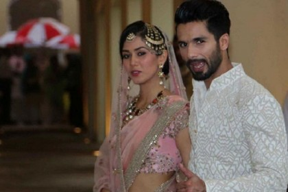 Shahid Kapoor ties knot with Mira Rajput in Delhi
