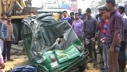 Two killed in Chittagong road accident