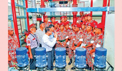 <p>&lsquo;Bashundhara City equipped with sophisticated firefighting technology&rsquo;</p>