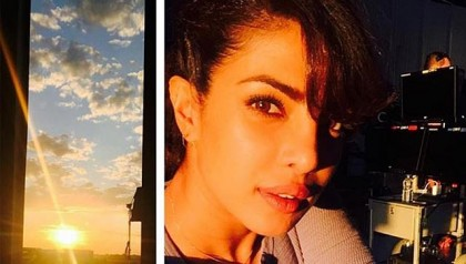 Priyanka wants you to see these pics from Quantico sets