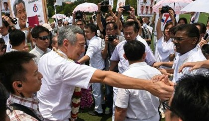 <p>Singapore opposition eyes bigger role as election campaign starts</p>