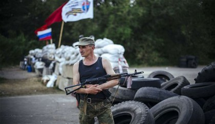 <p>Russia cuts off power supplies to Ukraine rebels</p>