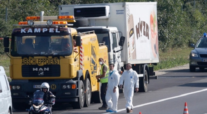 Austria migrant lorry found 26 including Bangladeshis