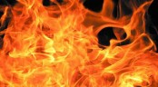 Fire injures 7 of a family in the capital
