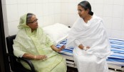 PM visits ailing Dipu Moni at hospital