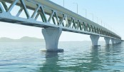 Padma Bridge construction progressing fast