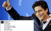 Shah Rukh Khan reveals his bucket list on Twitter