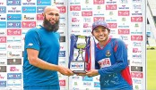Tigers and Proteas share Test trophy