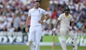 England's Anderson out of fourth Ashes Test