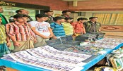 <p>6 held with Tk 1.2 crore fake notes in city</p>