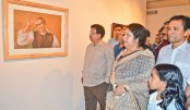 <p>Art show on Bangabandhu concludes at Shilpakala</p>