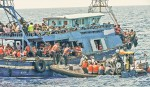 <p>200 migrants drown as 2 boats capsize off Libya</p>