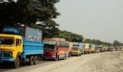 Bridge repair triggers 30km tailback in B'baria