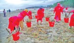 Robi supports beach cleaning project for tourists