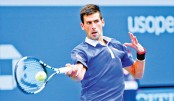 Serena, Djokovic roll but Nishikori out