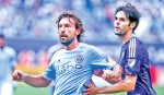 New York City FC win on Pirlo's debut