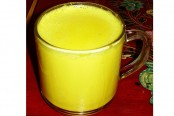 Turmeric milk helps to cure child's common cold