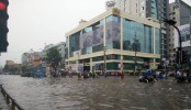 Heavy rains, traffic jam cause severe sufferings for city dwellers